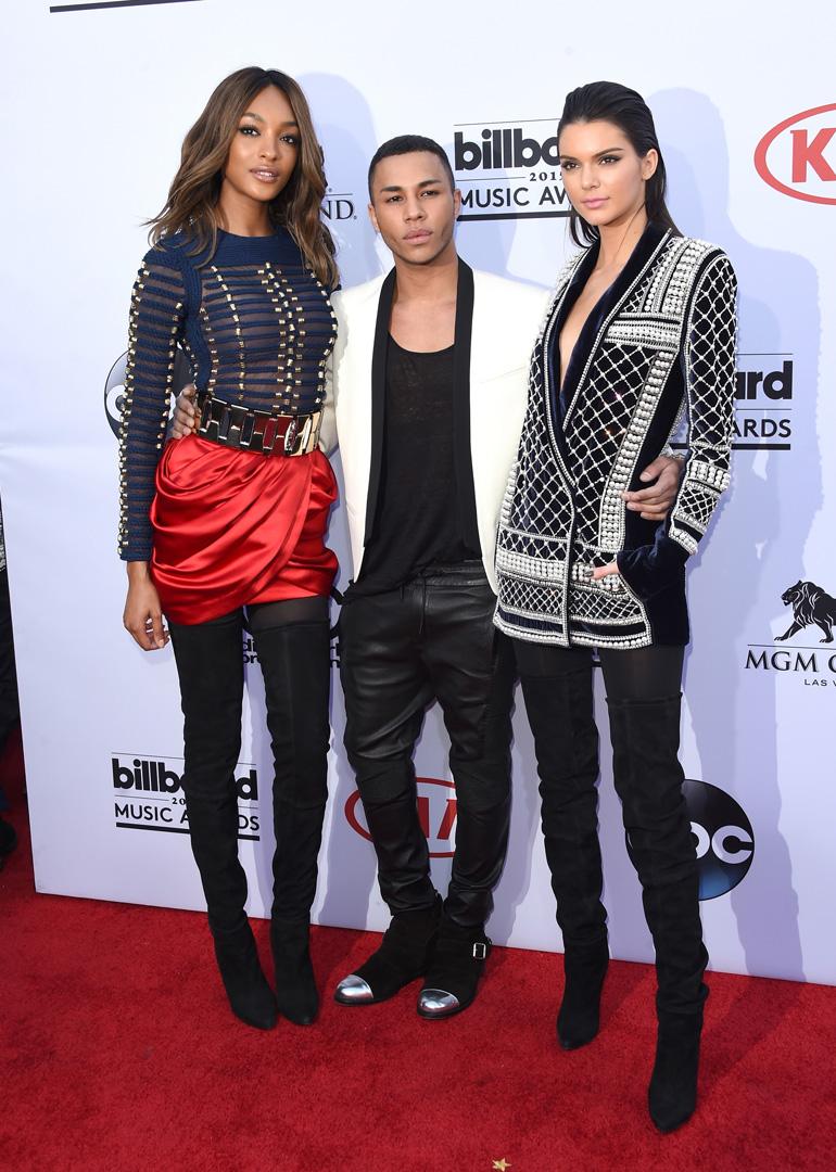 2015 Billboard Music Awards - Arrivals, Balmain x H&M