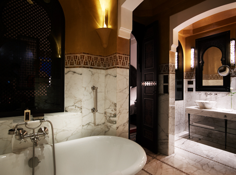 © La Mamounia_Bathroom Bathtub