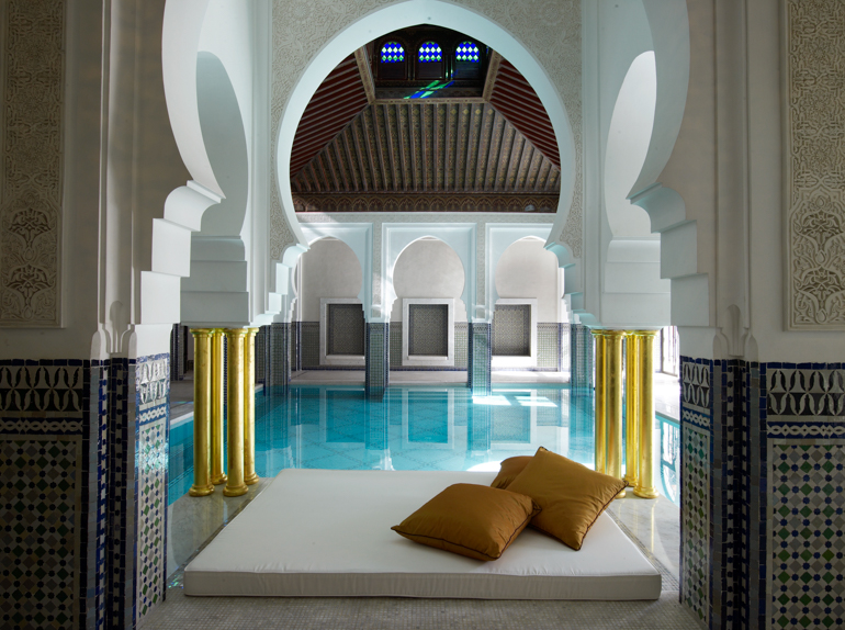 © La Mamounia-Marrakech_Indoor Pool Mattress