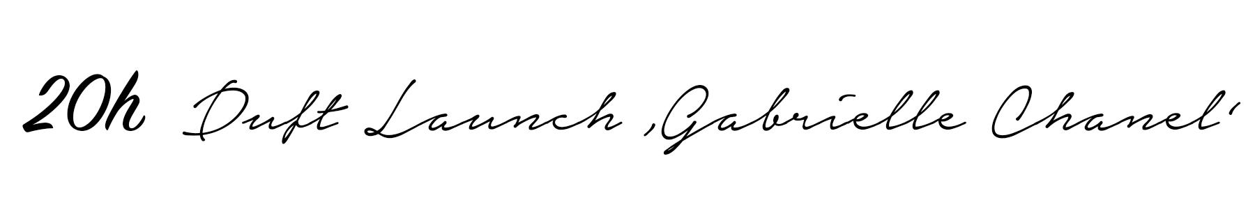 Das neue Gabrielle Chanel Parfum