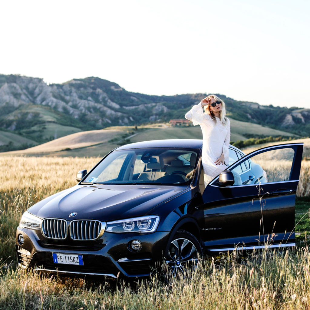 From Lake Como to Tuscany with BMW